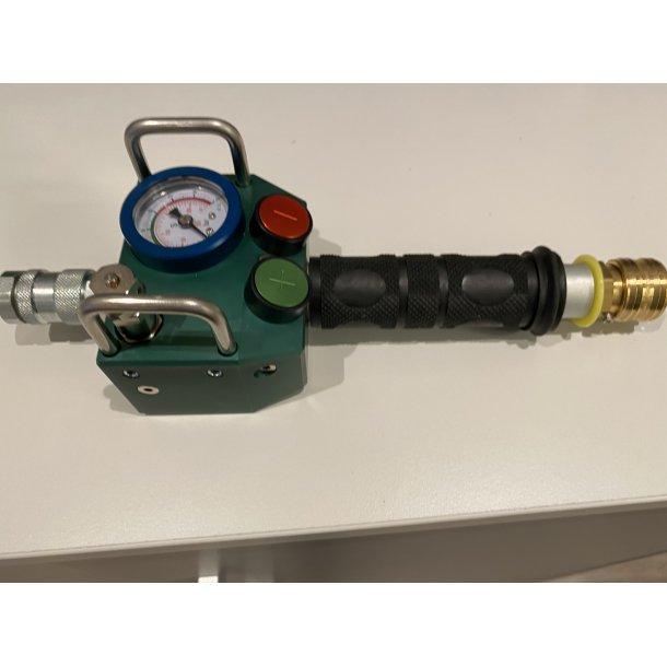 Håndholdt controller for løftepute 10 bar grønn