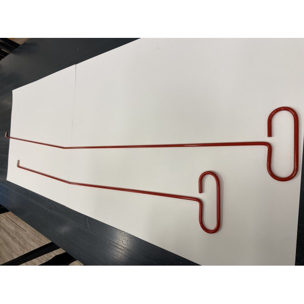 Langdirk 147cm rød 58