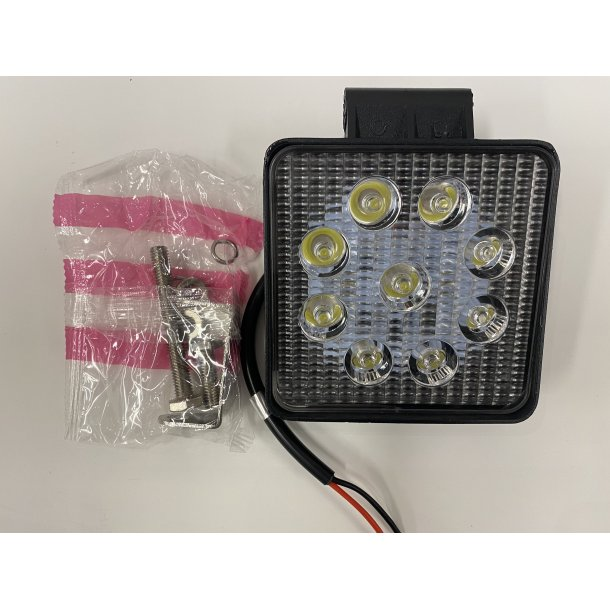 Arbeidslys LED 2200LM 9-32V 27W